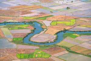 global landscape views/pete lomchid landscape photography/rice field valley bac son viewpoint lang son vietnam