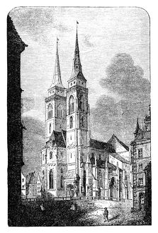 The Sebaldus Church at Nuremberg