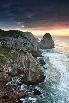 global landscape views/fred concha photography/situated sintra cascais natural park ursa beach