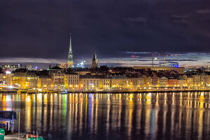 travel imagery/travel photographer collections dado daniela travel photography/stockholm night panorama