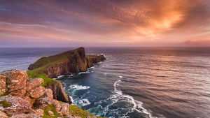 global landscape views/george w johnson landscapes/summer neist point