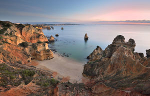 global landscape views/fred concha photography/sunrise lagos beach algarve