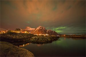 Svolvaer at Night