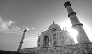 Taj Mahal Close-up