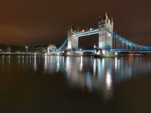 travel/photographer collections mark paulda photography/tower bridge reflecting thames river