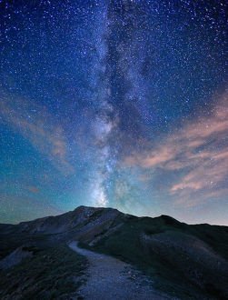 Trail to the Milky Way