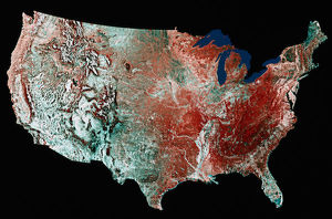 United States from Space