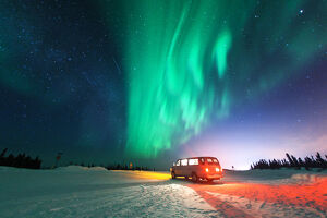 Van with Aurora