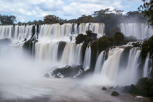 View of Iguazu Falls, Argentine Province Of Misiones, South America