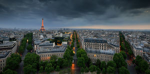 global landscape views/fred concha photography/view paris eiffel tower