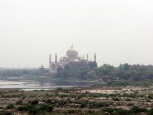 View of Taj Mahal, Agra, India