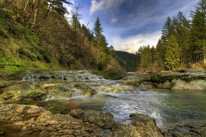 Washougal River , Washington