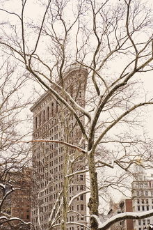 USA, New York, New York City, Manhattan, Flatiron Building